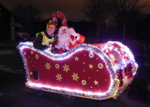 Revamped Santa Sleigh